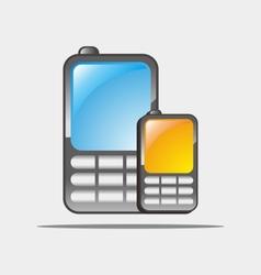 Cellular phones vector