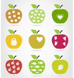 Apple icons3 vector