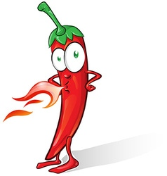 Mexican chili cartoon vector