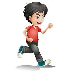 A boy vector