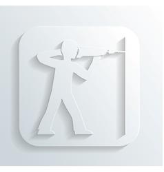 Driller icon vector