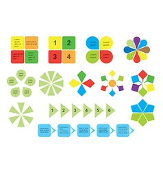 Set of infographics - elements vector