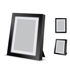 Frame desk vector
