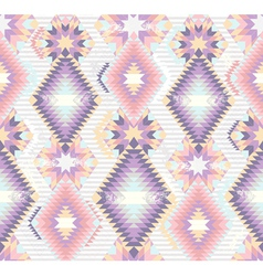 Abstract geometric seamless aztec pattern vector