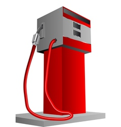 Petrol pump vector