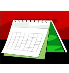 New year calendar vector