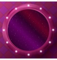 Window with stars vector