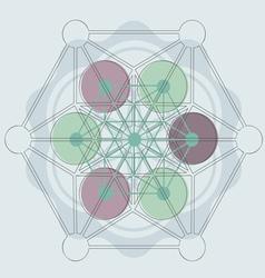 Magik symbol blue vector