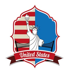 United states vector