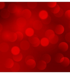 Abstract christmas red light background vector