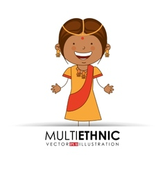 Multi ethnic vector