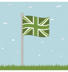 Great britain landscape vector