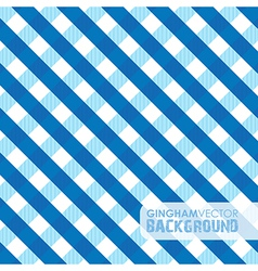 Gingham blue vector