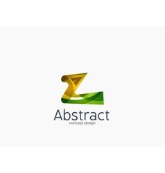 Modern company z letter logo vector