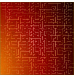 Red and gold abstract background vector