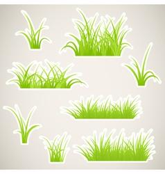 Grass paper vector