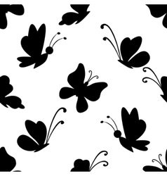 Background butterflies vector