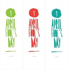 April fool day vector