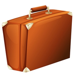 A travelling suitcase vector