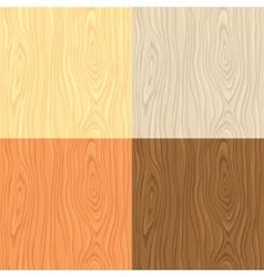 Wooden textures vector