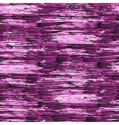 Hand drawn linear pattern with brushed pink lines vector
