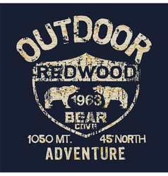 Outdoor adventure vector