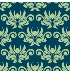 Persian paisley seamless floral pattern vector