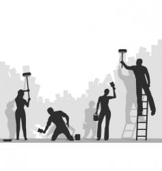 Painters vector