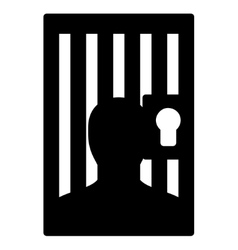 Prison icon from business bicolor set vector