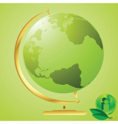 Eco world vector
