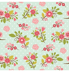 Beauty floral pattern vector