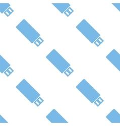 Flash drive seamless pattern vector