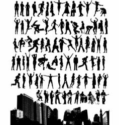 City people vector