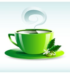 Cup of tea design vector