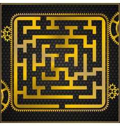 Maze or labyrinth vector
