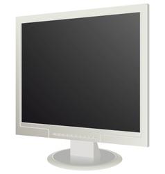 Modern monitor computer vector