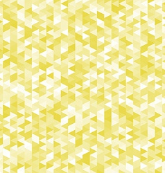 Yellow triangles pattern abstract geometric vector