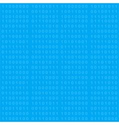 Binary code seamless background vector