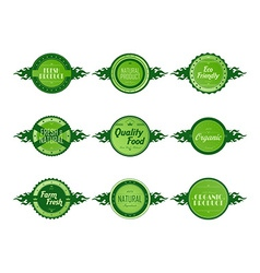 Label sticker vector
