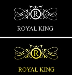 Royal king logo 1 vector