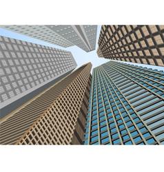 Building exterior vector
