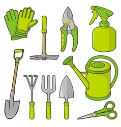 Gardening icons vector