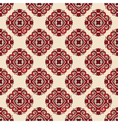 Seamless pattern tiled geometric abstract vector
