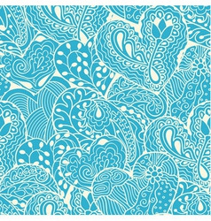 White heart drawing seamless pattern vector