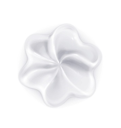 Whipped cream icon vector