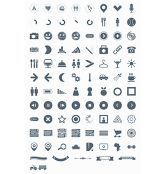Signs symbols and pictograms vector