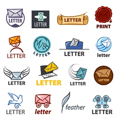 Biggest collection of logo design delivery of vector