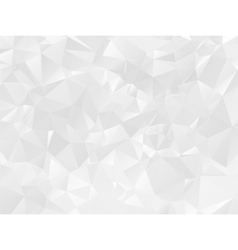 Gray polygonal mosaic paper background vector