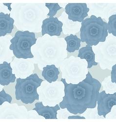 Flowers blue vector