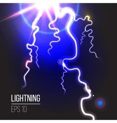 Electric lighting vector